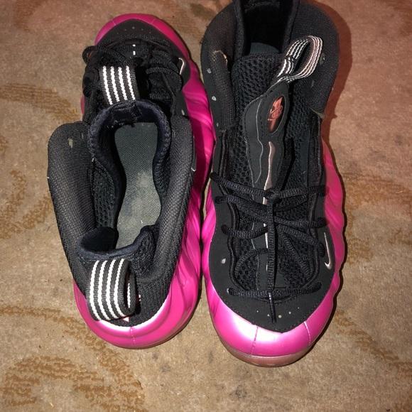 Polarized Pink Nike Foamposites Size 85